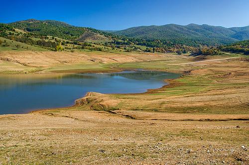 Domlyan Dam Bulgarien