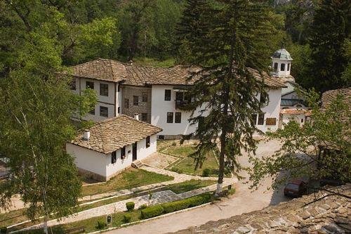 Tscherpischki Kloster, Bulgarien, Innenhof