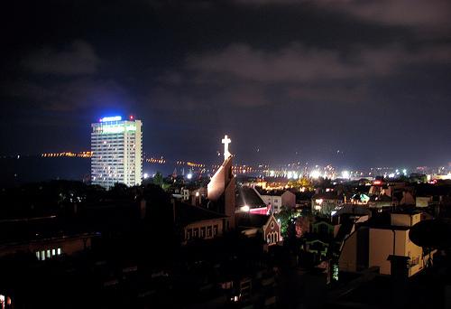 Varna in der Nacht