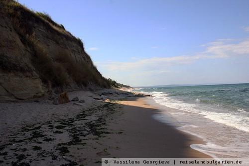 Schkorpilovtzi: Strand